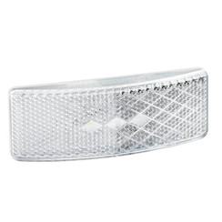 LED marker light white | 12-24v | 35cm. cable
