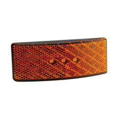LED marker light amber | 12-24v | 35cm. cable (smoke)