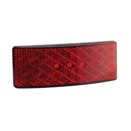 LED markeerlicht rood    12-24v   35cm. kabel (smoke)