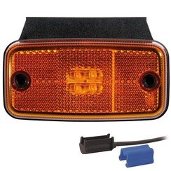 LED marker light amber | 12-24v | TRALERT®
