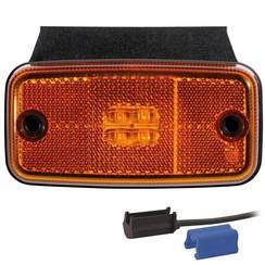 LED Umrissleuchten Gelb | 12-24V | TRALERT®