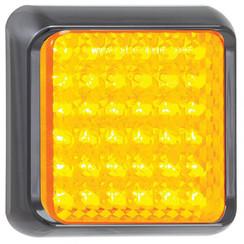 LED-Taschenlampe mit schwarzem Rand | 12-24V | 40cm. Kabel