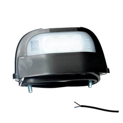 LED License Plate Light | 12-36V | Volt 50cm. cable