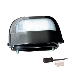 LED-Kennzeichenleuchte | 12-36V | volt 1,5mm² Stecker