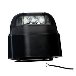 LED-Kennzeichenleuchte | 12-36V | Volt 50cm. Kabel