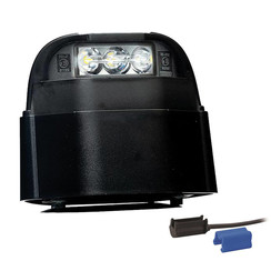 LED-Kennzeichenleuchte | 12-36V | volt 0,75mm² Stecker