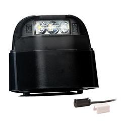 LED-Kennzeichenleuchte | 12-36V | 1,5mm² Stecker