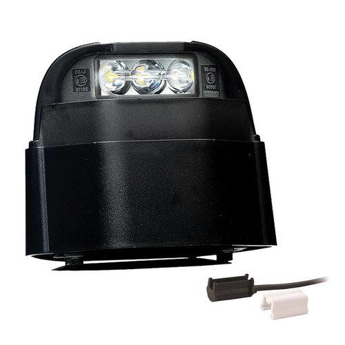 LED Kentekenverlichting  | 12-36v | 1,5mm² connector