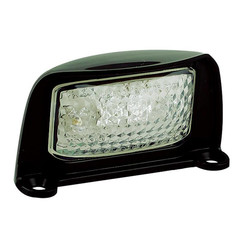 LED license plate light | 12-24v | 20cm. cable