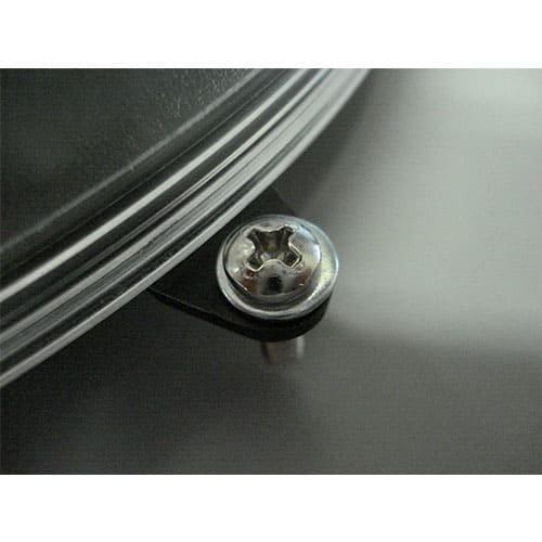 Prealux S.r.l. R&D 200mm Master amber flasher slim-line met oren