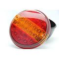 LED achterlicht    12-24v   zonder kabel.