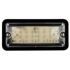 LED interior black 24v, cold white light
