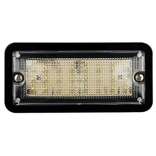 LED interieurverlichting zwart 24v, koud wit licht