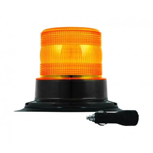 R65 LED Flits/zwaailamp | 10-30v | met PC magneet montage