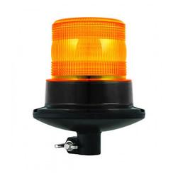 R65 LED Flits/zwaailamp | 10-30v | met PC Din-montage
