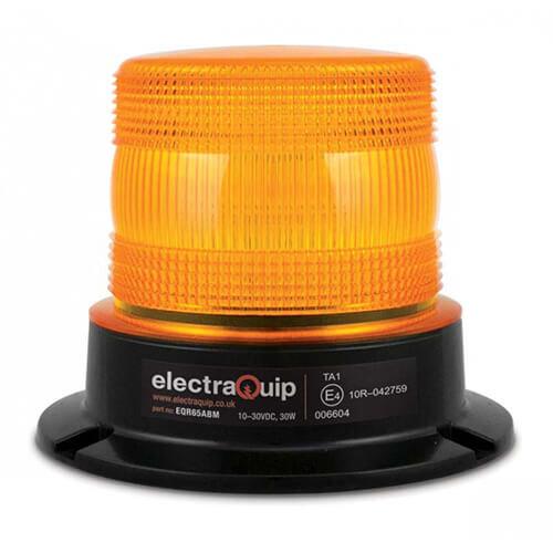 R65 ALU LED Flits/zwaailamp Amber | 10-30v |