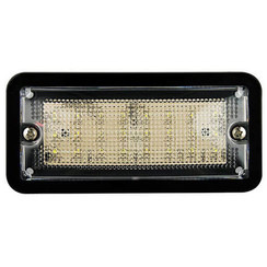 LED interior black 12v, cold white light