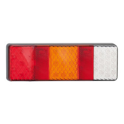 LED rear light without license plate light | 12-24v | 40cm. cable