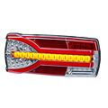 TRALERT® Links | LED achterlicht dynamisch knipperlicht  | 12-24v | 150cm. kabel