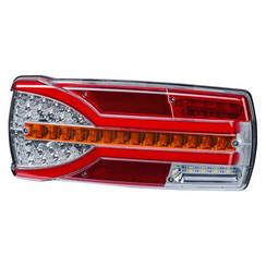 Left | LED backlight dynamic flashing | 12-24v | 150cm. cable