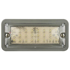 LED Innenraumleuchtebeleuchtung   grau   12v   kaltes Weiß