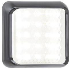 LED achteruitrijlamp met zwarte rand   | 12-24v | 40cm. kabel