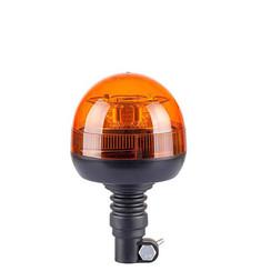 LED Zwaailamp 12v  Amber R65 met Flexi DIN montagevoet  | 12-24v |