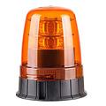 LED Zwaailamp Amber R65 met 3-bouts montagevoet    12-24v  