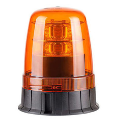 Rundumleuchte LED R65 Bernstein 3-Bolzenmontagebasis | 12-24V |
