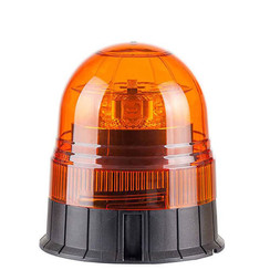 Warning beacon  LED R65 Amber 3-bolt mounting base | 12-24v |