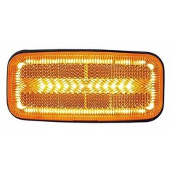 LED side markers with flashing function | 12-24v | 50cm. cable