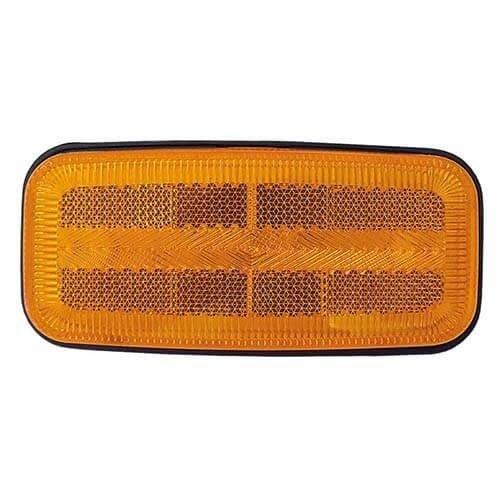 LED zij-markering met knipperlichtfunctie  | 12-24v | 50cm. kabel