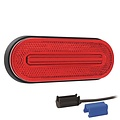Fristom LED markeerlicht rood  | 12-24v |  0,75mm² connector