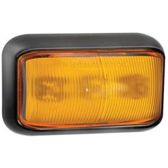 LED-Seitenblinkerleuchte Gelb | 12-24V | 40cm. Kabel