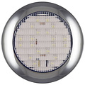 LED achteruitrijlicht met chromen rand  | 12-24v | 0,15m. kabel