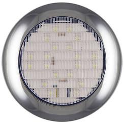 LED rear lights with chrome rim | 12-24v | 0.15m. cable