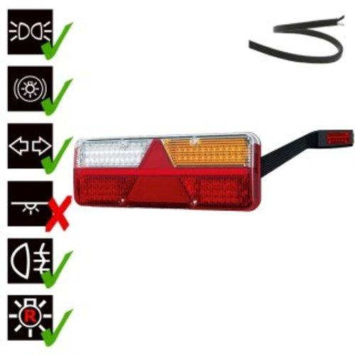 Rechts   LED Trailerlamp   dynamisch knipperlicht    9-36v   200cm. kabel