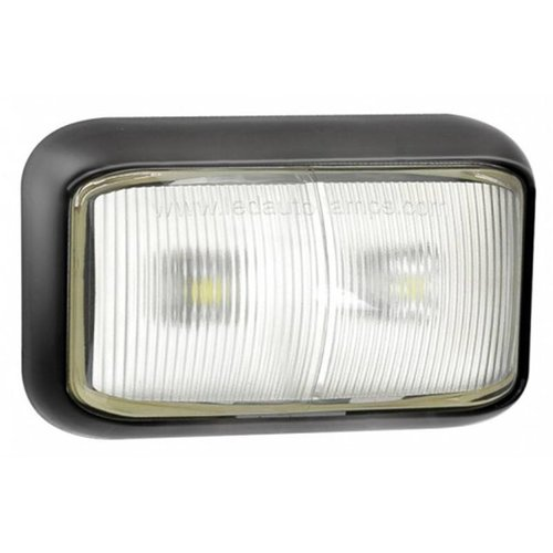 LED Autolamps  LED markeerlicht wit  | 12-24v |  40cm. kabel
