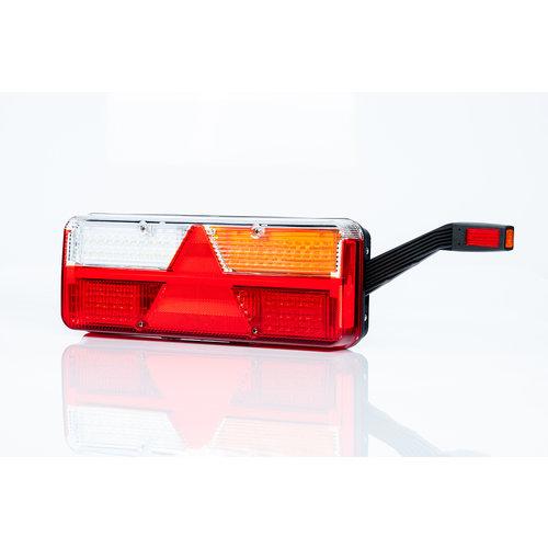 Fristom Rechts | LED Trailerlamp | dynamisch knipperlicht  | 9-36v | 7PIN+superseal+alarm