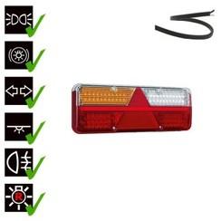 Left | LED trailer light | dynamic flashing | 9-36V | 200cm. cable