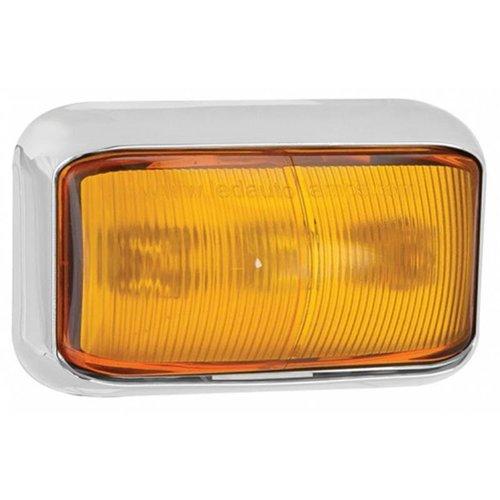 LED zij-knipperlichtamber   12-24v  