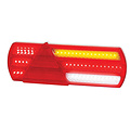 LED Autolamps  LED slimline achterlicht zonder kentekenverlichting    12-24v   40cm. kabel