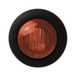 LED marker light red | 12-24v | 20cm. cable