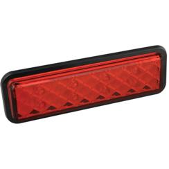 LED rem/achterlicht slimline inbouw  | 12-24v | 0,18m. kabel