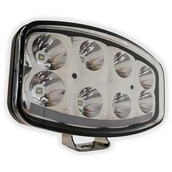 LED verstraler 6500 Lumen met dagrijverlichting 9-33v 1,5m. kabel ECE-R112