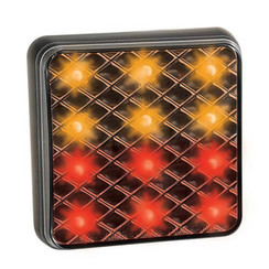 Compact LED rear light | 12-24v | 30cm. cable