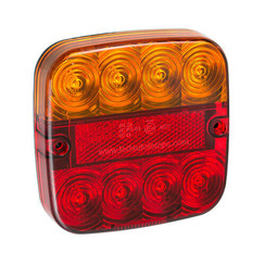 Kompakte LED-Rücklicht 12V 50cm. Kabel