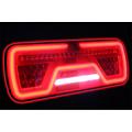 Links | LED Neon achterlicht | dynamisch knipperlicht | 12-24v |200cm. kabel