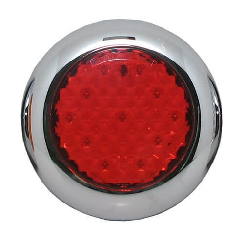 LED Autolamps  LED mistlicht met chromen rand  | 12-24v | 0,15m. kabel