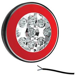 LED mistlicht met achterlicht  | 12-36v | 100cm. kabel
